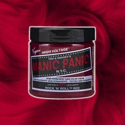 Manic Panic Rock'n'Roll Red VEGAN