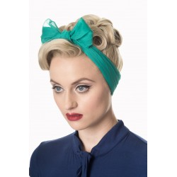 Banned Retro 50s Gradiation Scarf Emerald