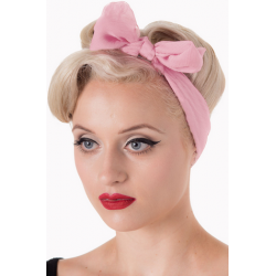Banned Retro 50s Gradiation Scarf Blush