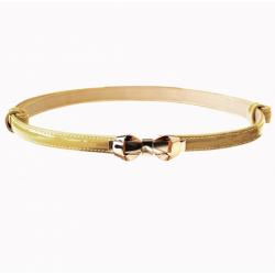 Banned Retro 50s Bitter Sweet Bow Belt Gold