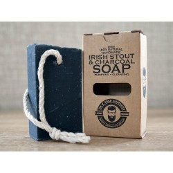 Dr. K's Irish Stout & Charcoal Soap