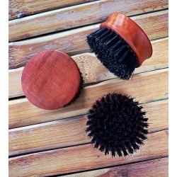 Dandy Rebelz Beard Brush Pear Wood