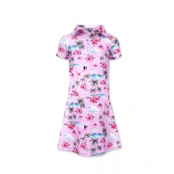 Six Bunnies Flamingos Dress