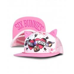 Six Bunnies Snapback True Love