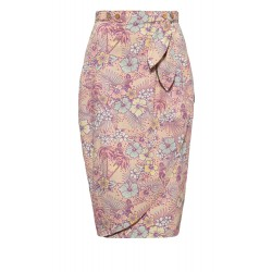 Queen Kerosin Hawaiian Skirt Pastel Pink