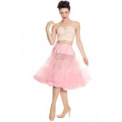 Hell Bunny Petticoat Dolly Pink