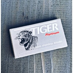 Tiger Platinum - 5 Lames de Rasoir