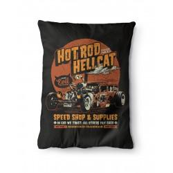 Liquor Brand Hot Rod Hellcat Pillow