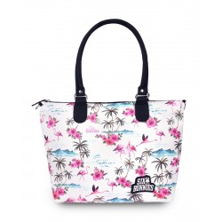 Liquor Brand Flamingo Diaper Bag