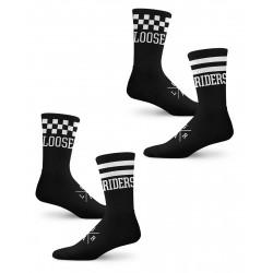 Loose Riders 2-Pack Reverso Socks Unisex