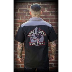 Rumble59 Worker Shirt Lone Wolf Forever