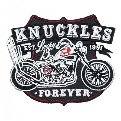 Lucky 13 Knuckles Patch