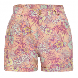 Queen Kerosin Hawaiian Shorts Pastel Pink