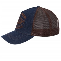 King Kerosin Trucker Cap Speedfreak Denim