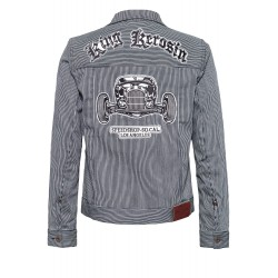 King Kerosin Speedshop Denim Jacket