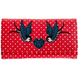Banned Retro Now or Never Polka Wallet