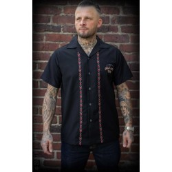 Rumble59 Lounge Shirt Four Aces Black