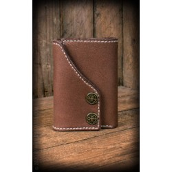 Rumble59 Leather Wallet Brown