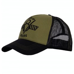 King Kerosin Trucker Cap Speed Up V8