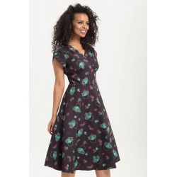 Voodoo Vixen Tea Time Day Dress