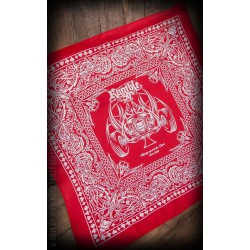 Rumble 59 Bandana Racing Red