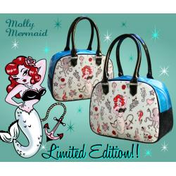 Miss Fluff Molly Mermaid Bowler Handbag