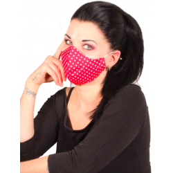 Polka Red Cloth Face Coverings