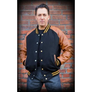 Rumble59 Baseball 1955 Jacket Brown