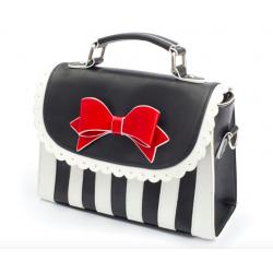 Lola Ramona Girly Striped Handbag Vegan