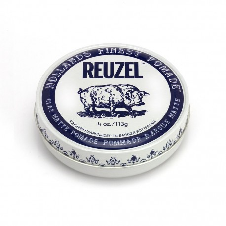 Reuzel Clay Matte Pomade Finish Strong Hold