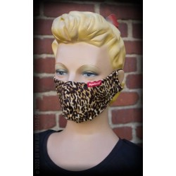 Rumble59 Cloth Face Coverings Leopard