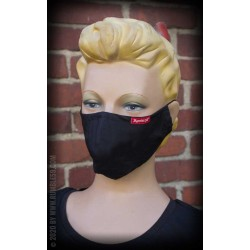 Rumble59 Cloth Face Coverings Black