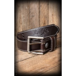 Rumble59 Leather Belt Brown