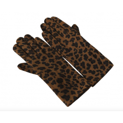 Collectif Leonarda Gloves Leopard