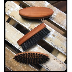 Dandy Rebelz Beard Brush Pear Wood