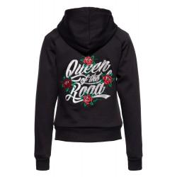 Queen Kerosin Roses Hoody Doublé Softshell