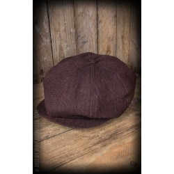 Rumble59 Slugger Cap Herringbone Brown