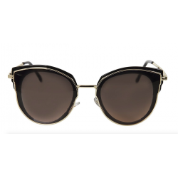 Collectif Rizzo 50s Sunglasses Black