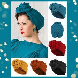 The House of Foxy 40s Style Turban