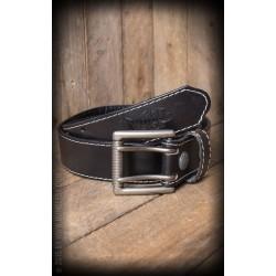 Rumble59 Leather Belt Black
