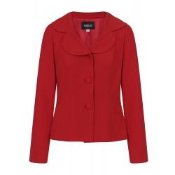 Collectif Brooke Blazer Jacket Red