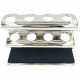 Deluxe Chrome Safety Razor Caddy