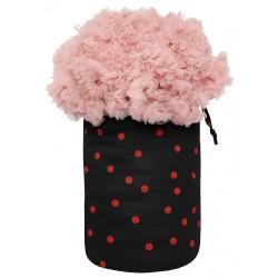 Big Petticoat Bag Black & Red Polka Dots