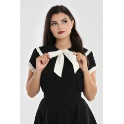 Hell Bunny Veronica Blouse
