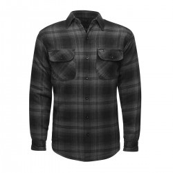 Lucky 13 Lined Flannel Jacket Outside Grey