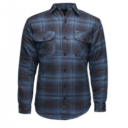 Lucky 13 Lined Flannel Jacket Outside Navy
