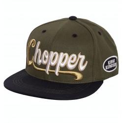King Kerosin Snapback Cap Chopper