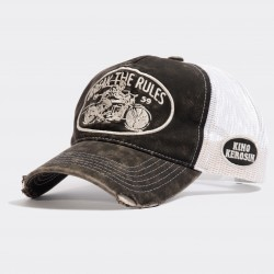 King Kerosin Trucker Cap Break The Rules
