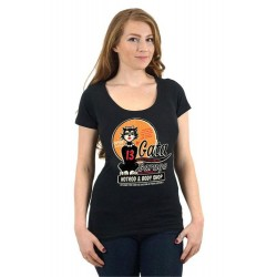 Lucky 13 LA Gata Hot Rod Tshirt