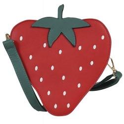 Collectif Juicy Strawberry Retro Handbag